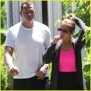 Jennifer Lopez & Alex Rodriguez Head to the Hamptons!