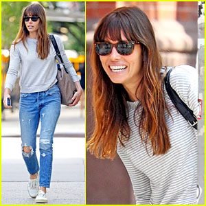 Jessica Biel is All Smiles After Shooting 'The Sinner' Episodes