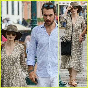 Jessica Chastain & Boyfriend Gian Luca Passi de Preposulo Enjoy Family Time in Italy