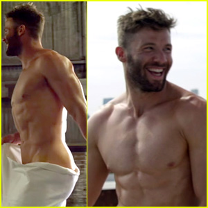 NFL's Julian Edelman Bares Ripped Figure for ESPN Body Issue BTS Video!
