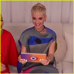 Katy Perry Sets Up Epic Dominoes Track on Live Stream - Watch!