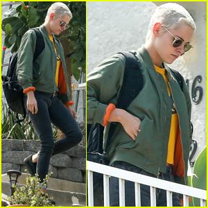 Kristen Stewart Keeps It Friendly With Ex Alicia Cargile