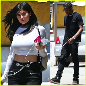 Kylie Jenner & Travis Scott Step Out for Lunch Date