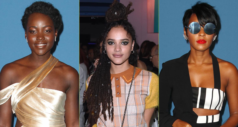 Lupita Nyong'o, Janelle Monae & Sasha Lane Step Out at ...