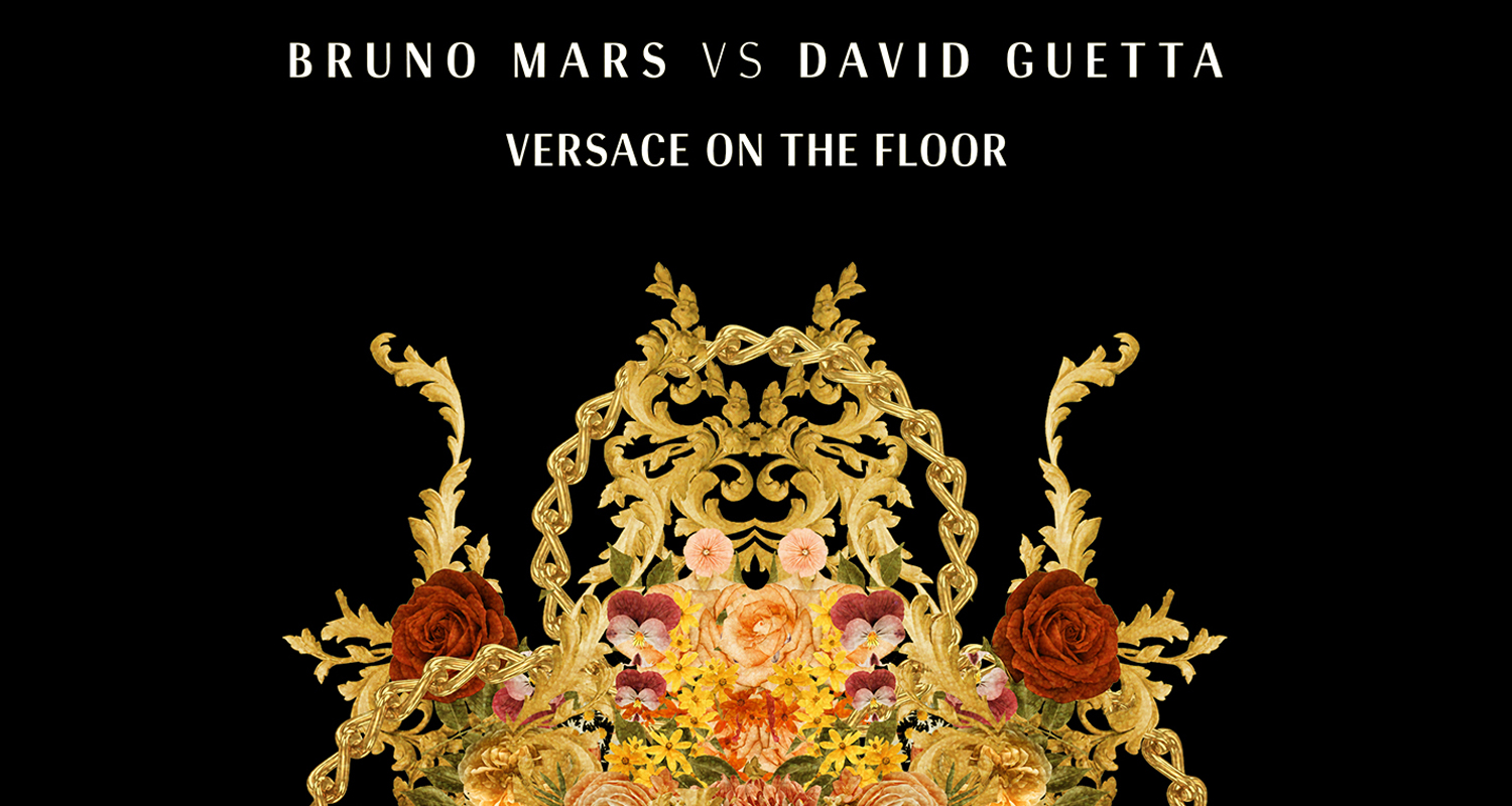 Bruno mars versace on the floor gets an offiical david for On the floor