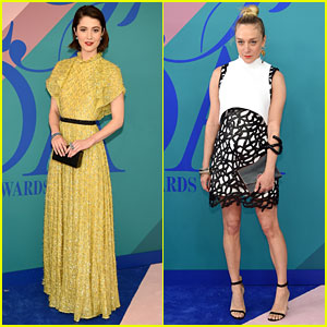 Mary Elizabeth Winstead & Chloe Sevigny Get Glam for CFDA Awards 2017
