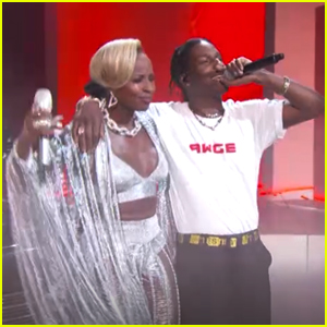 Mary J. Blige & A$AP Rocky Team Up at the BET Awards 2017 - Watch Now!