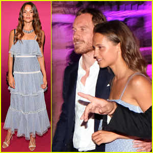 Michael Fassbender & Alicia Vikander Are Still Going Strong!