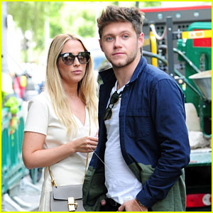 Niall Horan Chats It Up With Female Friend in London