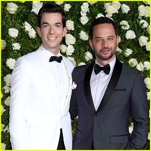 Oh Hello's Nick Kroll & John Mulaney Suit Up for Tony Awards 2017!