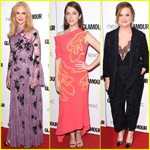 Nicole Kidman, Anna Kendrick, & Amy Poehler Are Winners at Glamour UK's Women of the Year Awards!