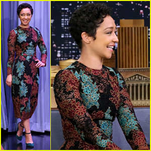 Ruth Negga Gets Distracted By Jimmy Fallon's Summer 'Stache On 'The Tonight Show'!