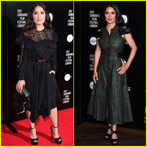 Salma Hayek Stuns at 'Beatriz at Dinner' Sundance Screening
