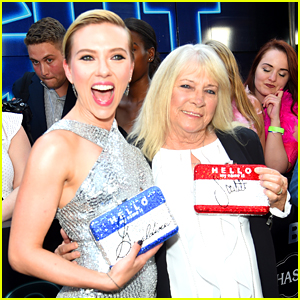 Scarlett Johansson Says She & Lookalike Grandma Got 'Trashed' at 'Rough Night' Premiere