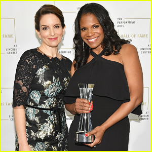 Tina Fey Inducts Audra McDonald Into Lincoln Center Hall Of Fame!