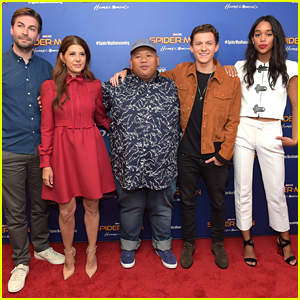 Tom Holland & 'Spider-Man: Homecoming' Co-Stars Attend New York First Responders Screening