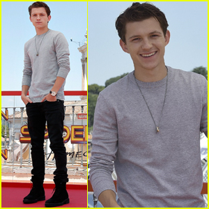 Tom Holland Is Taking Rome By Storm During 'Spider-Man' Press Tour!