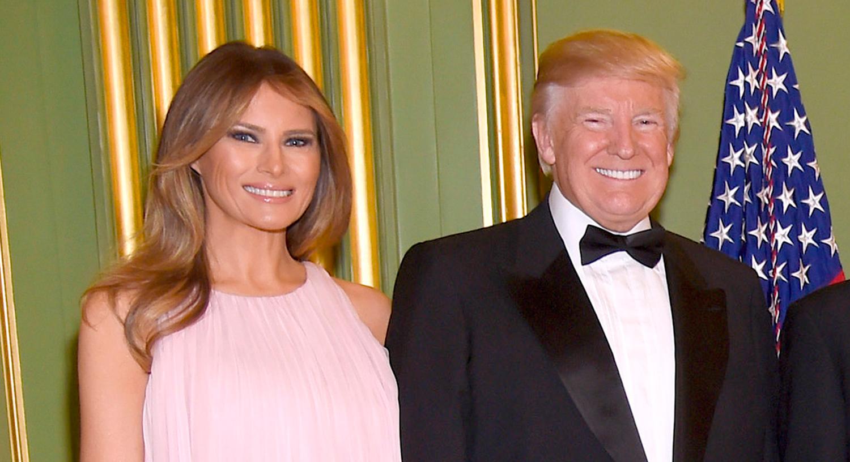 Trump And Melania Wedding.Donald Trump Wife Melania Attend Treasury Secretary Steven