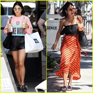 Vanessa Hudgens Can't Stop Laughing in Cute New Pics