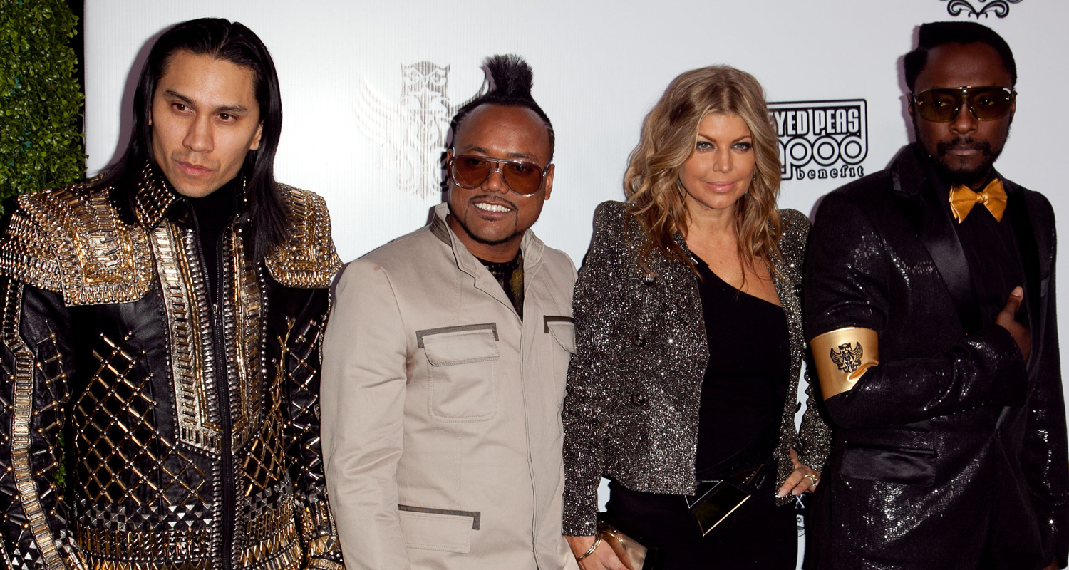 Will I Am Clarifies Comments About Fergie Leaving The Black Eyed Peas Black Eyed Peas Fergie Will I Am Just Jared