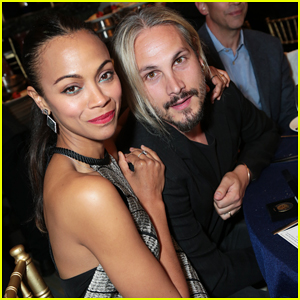 Zoe Saldana & Hubby Marco Perego Couple Up At Navy SEAL Foundation Evening of Tribute!