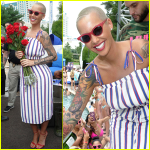 Amber Rose Hosts Liquid Sunday Party in Connecticut