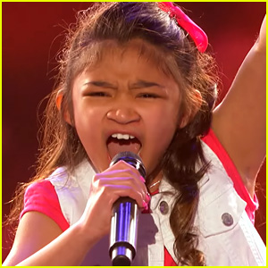 9-Year-Old Sings 'Girl on Fire,' Gets Golden Buzzer on 'America's Got Talent' (Video)