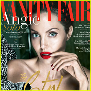 Angelina Jolie Gets Candid About Split From Brad Pitt, Bell's Palsy Diagnosis & More
