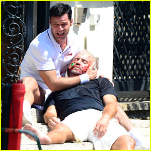 Gianni Versace's Partner Comments on Ricky Martin's Bloody Set Photos: It's 'Ridiculous'