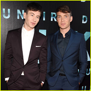 Cillian murphy photos news and videos just jared barry keoghan cillian murphy suit up for dunkirk irish premiere freerunsca Choice Image