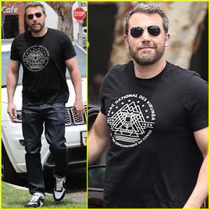 Ben Affleck Steps Out After Humanitarian Award Win!