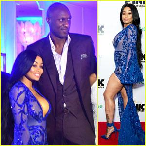 Blac Chyna Buddies Up with Lamar Odom, Reunites with Ex Tyga at iGo.Live Launch Party!