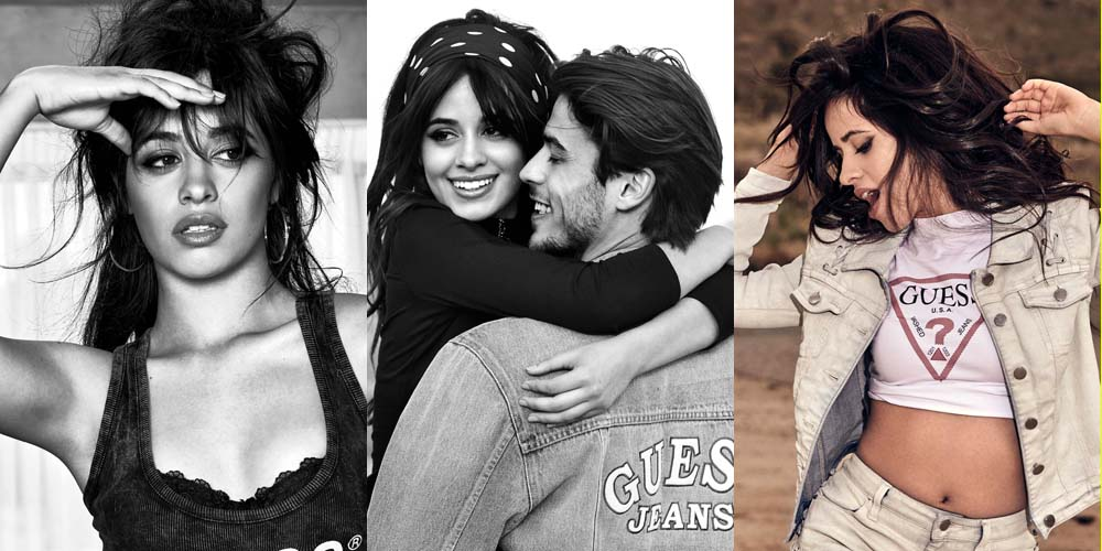 reputable site d92df cc1dc Camila Cabello Stars in Guess Jeans' Hot New Campaign ...