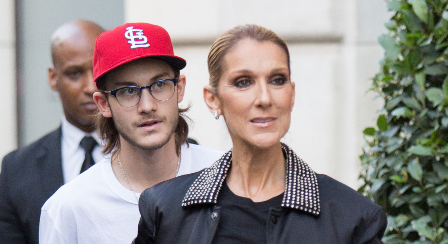 Celine Dion Grabs Dinner with Son Rene-Charles Angelil in ...