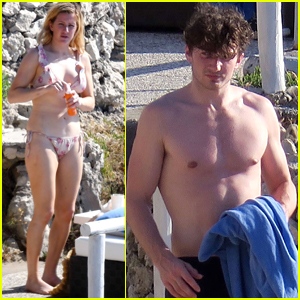 Ellie Goulding Shows Off Her Bikini Body on Italian Getaway with Boyfriend Caspar Jopling