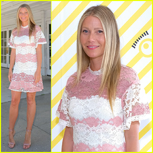 Gwyneth Paltrow Rocks Lacy Pink Mini Dress While Hosting 'Despicable Me 3' Screening