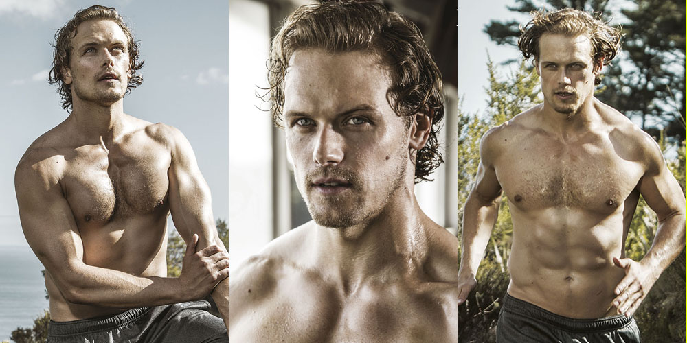 Sam Heughan's Shirtless Workout Photos Are So Sexy | Magazine, Sam