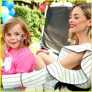 Jaime King's Son James Knight Gets His Face Painted During a Fun Family Day!