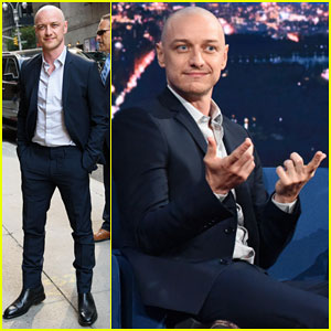 James McAvoy Talks Close Call Shaving Private Parts as Young Man on 'The Late Show' - Watch Here!
