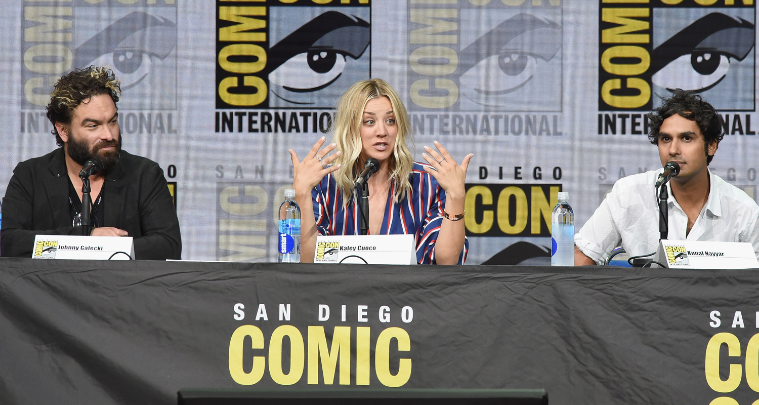 Image result for big bang theory comic con 2017