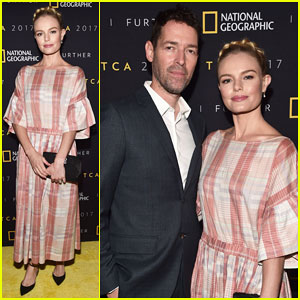 Kate Boswroth & 'Favorite Partner in Crime' Michael Polish Couple Up at National Geographic Party!