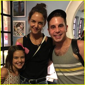 Katie Holmes Takes Daughter Suri to See 'Dear Evan Hansen' on Broadway!