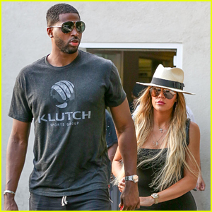 Khloe Kardashian & Tristan Thompson Step Out for Date Night