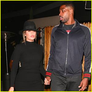 Khloe Kardashian & Boyfriend Tristan Thompson Enjoy Date Night at The Nice Guy