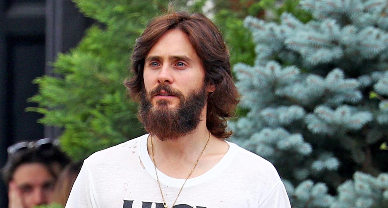 Jared Leto Shows Off His Full Beard in NYC | Jared Leto ... Jared Leto