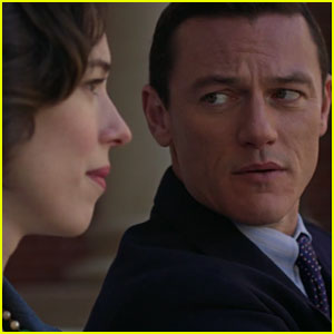 Luke Evans Hides a Secret in 'Professor Marston & the Wonder Women' Trailer - Watch Now!