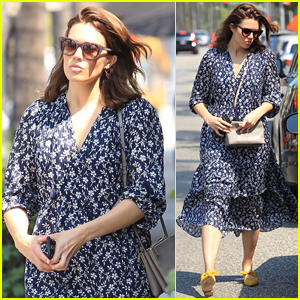 Mandy Moore Enjoys a Day of Pampering in Beverly Hills