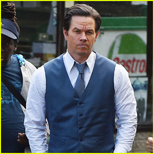 Mark Wahlberg Films 'All the Money in the World' in London
