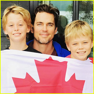 Matt Bomer's Twin Boys Are Getting So Big!