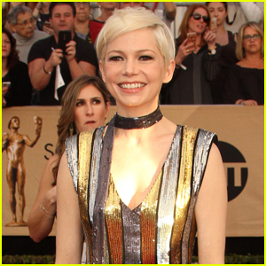 Michelle Williams Spotted Kissing Mystery Man in Italy!